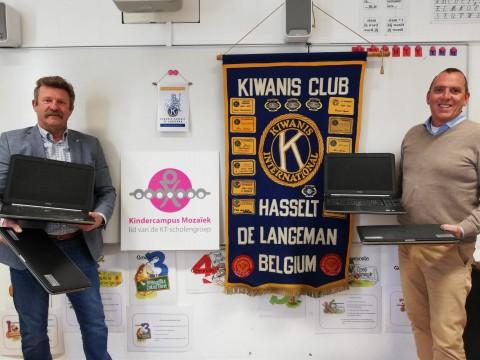 Kiwanis Hasselt de Langeman tegen Corona en voor de kinderen…
