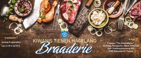 Kiwanis Tienen Hageland Braaderie