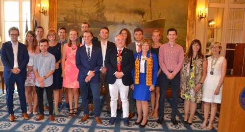 chartering Kiwanis Tienen Sugar Youth