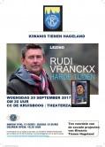 ANNULATIE Harde Tijden - Rudi Vranckx 20 september 2017