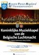 nieuwjaarsconcert met de Koninklijke Muziekkapel van de Belgische Luchtmacht